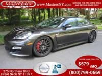 This Lovely Carbon Grey Metallic 2013 Porsche Panamera