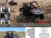 This American Owned and Operated 800cc ODES UTV comes