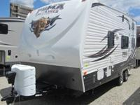 2013 Puma Unleashed 21TFU TOY HAULER Travel Trailer-