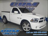 This rare 2013 Ram R/T regular cab short bed 2WD pickup