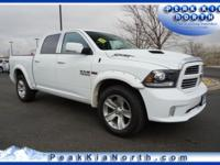 Bright White Clearcoat 2013 Ram 1500 Sport 4WD 8-Speed