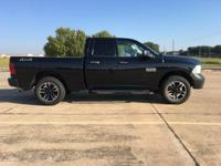This is a 2013 Ram 1500 4x4 quad cab. 4.7 V8 gas