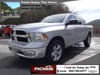 You are looking at a very clean 2013 Ram 1500 QUAD CAB