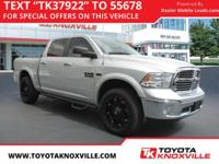 CARFAX One-Owner. Clean CARFAX. Silver 2013 Ram 1500