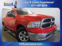 Recent Arrival! 2013 Ram 1500 SLT CARFAX One-Owner.
