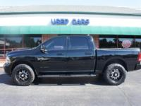 Exterior Color: black clear coat, Body: Crew Cab