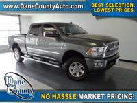 NO DAMAGE CARFAX REPORT - LOW MILES - LARAMIE LONGHORN