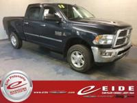 This 2013 Ram 2500 Big Horn Crew Cab is Black exterior
