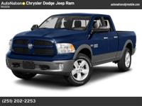 2013 Ram 1500 Quad Cab SLT with 41K miles. Certified