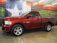 *Purchase this deep cherry red 2013 Ram 1500 Express