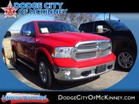 Take command of the road in the 2013 Ram 1500! Settle