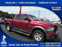Used 2013 Ram 1500,  DESIRABLE FEATURES:  a TRAILER /