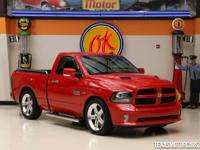 The 2013 Ram 1500 R/T is a sporty regular cab short bed