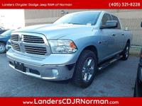 CARFAX One-Owner. Bright Silver 2013 Ram 1500 SLT RWD