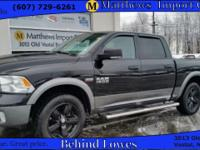 This accident FREE, 2013 Ram 1500 Outdoorsman comes