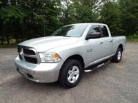This 2013 Ram Quad Cab 4x4 came to us in TOP NOTCH
