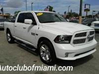 Options:  2013 Ram Ram Pickup 1500 Sport 4X2 4Dr Crew