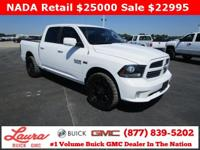 1-Owner New Vehicle Trade! Sport 5.7 V8 Hemi Crew Cab