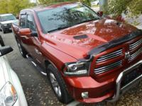 This Ram 1500 has a V8, 5.7L high output engine. This