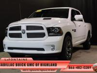 2013 Ram 1500 Sport in Bright White Clearcoat, One