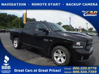 Used 2013 Ram 1500, DESIRABLE FEATURES: a BACKUP