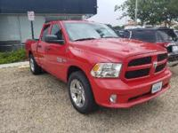 Flame Red Clearcoat 2013 Ram 1500 Tradesman RWD 6-Speed