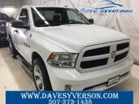 Bright White 2013 Ram 1500 Express 4WD 6-Speed