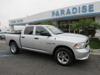 Options:  2013 Ram 1500 4Wd Crew Cab 140.5 Tradesman|4