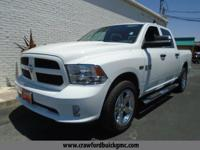 White 2013 Ram 1500 Tradesman 4WD 6-Speed Automatic