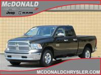 Options:  2013 Ram 1500 Tradesman/Express 4X4 Quad Cab