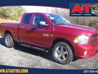 CARFAX One-Owner. Certified. Red 2013 Ram 1500 4WD