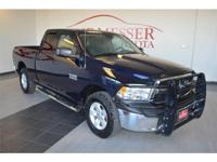 We are excited to offer this 2013 Ram 1500. When you