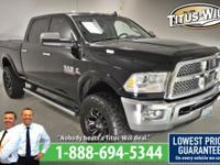 Completely inspected and reconditioned, 2013 Ram 2500,