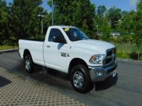 CARFAX One-Owner. White 2013 Ram 2500 SLT 4WD 6-Speed