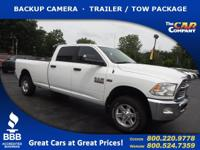 Used 2013 Ram 2500, DESIRABLE FEATURES: a BACKUP
