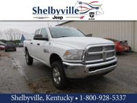 CARFAX One-Owner. 2013 Ram 2500 Tradesman 4WD 6-Speed