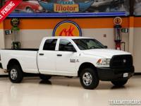 This Carfax 1-Owner 2013 Ram 2500 Tradesman is in great