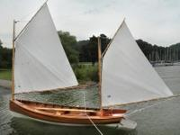 This hand crafted recreation of the classic day-sailer,