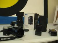 I'm offering my mirrorless samsung nx300 video camera,