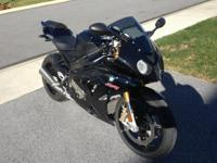 2013 Sapphire Black BMW S1000RR. Showroom Problem -