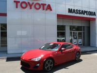 Red 2013 Scion FR-S RWD 6-Speed D-4S 2.0L H4 DOHC