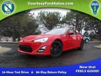This FR-S is equipped with a 6-Speed Manual