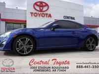 2013 Scion FR-S 2D Coupe RWD 6-Speed Automatic D-4S