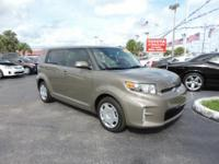 CarFax 1-Owner LOW MILES This 2013 Scion xB is a 100 %