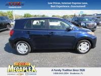 New Price! This 2013 Scion xD in Blue is well equipped