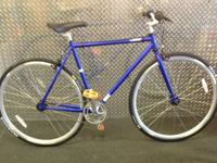 Selling a 54cm SE Lager Electric Blue  Purchased for