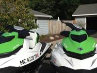 .,...2013 Sea Doo GTS 130 jet ski's with trailer. Both