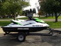 2013 Sea Doo GTS 130 jet ski's with trailer. Both