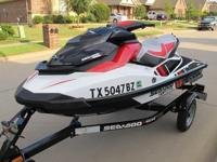 2013 Sea Doo Wake 155, it has a 4 stroke engine with