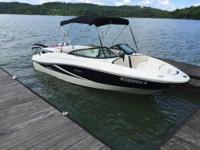 2013 Sea Ray 190 Sport. Priced to Sell. Only 55 Hours.